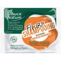 FLEUR DE SHAMPOOING CHEVEUX NORMAUX 85 G DOUCE NATURE
