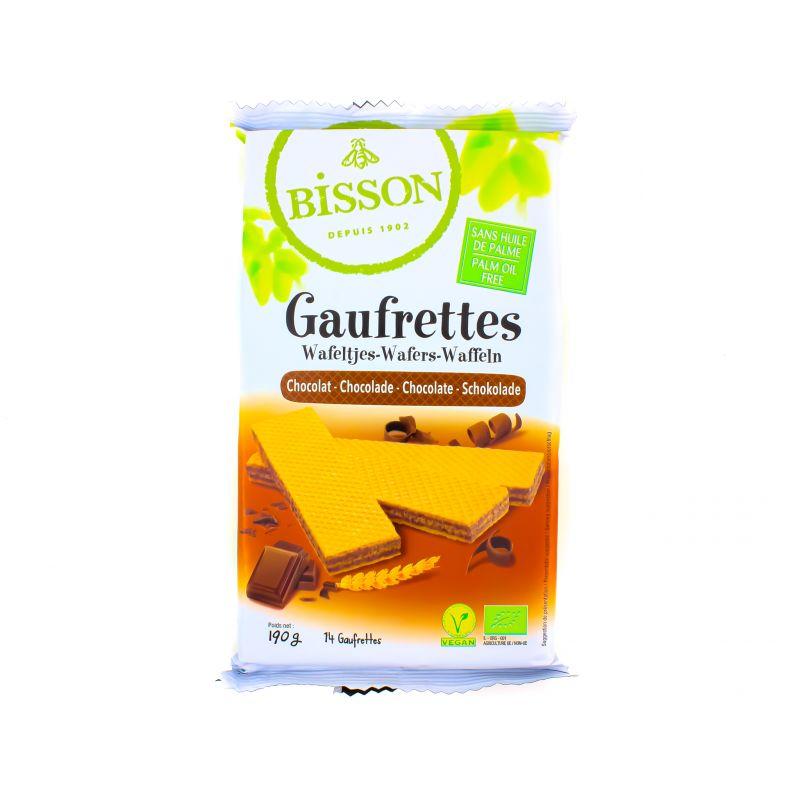 GAUFRETTES CHOCOLAT BISSON 190 G BISSON
