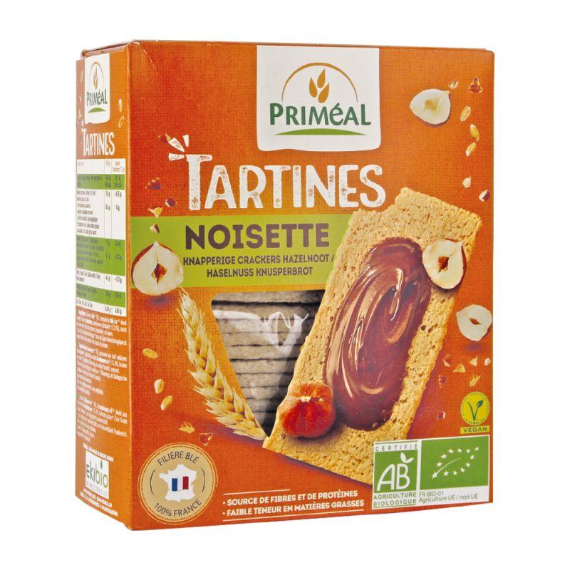 TARTINE CRAQUANTE BLÉ COMPLET NOISETTE 150 G PRIMEAL