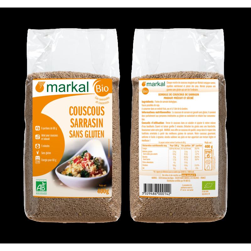 COUSCOUS SARRASIN 400 G MARKAL