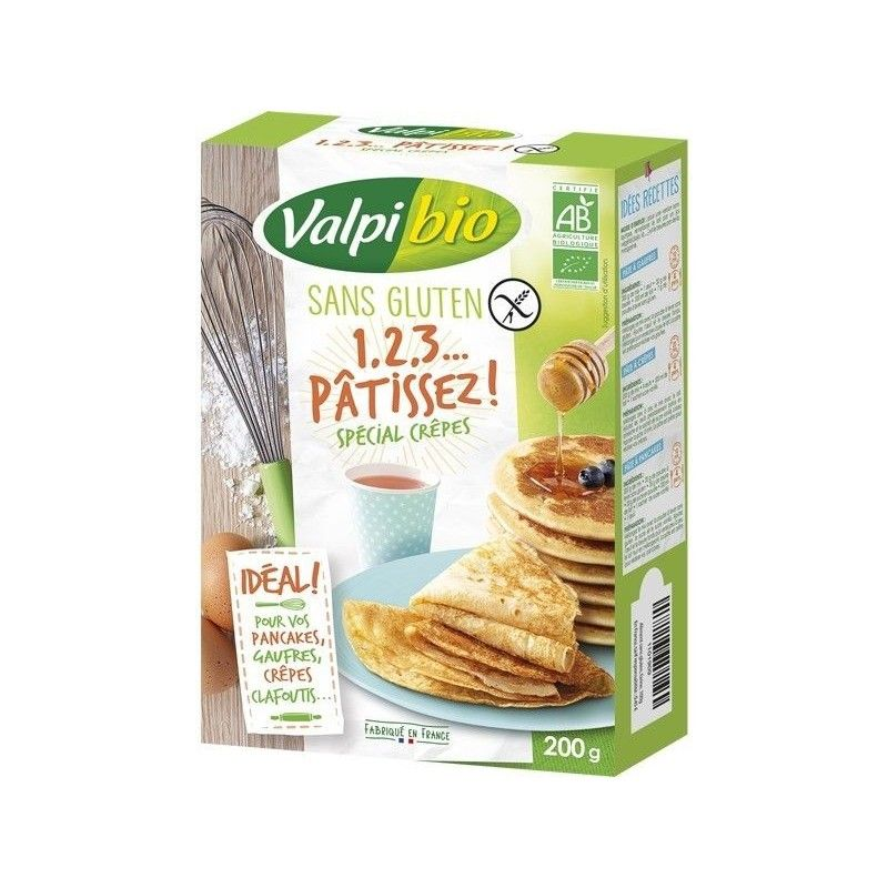 MIX 1,2,3 PATISSEZ, SPECIAL CREPES 200 G