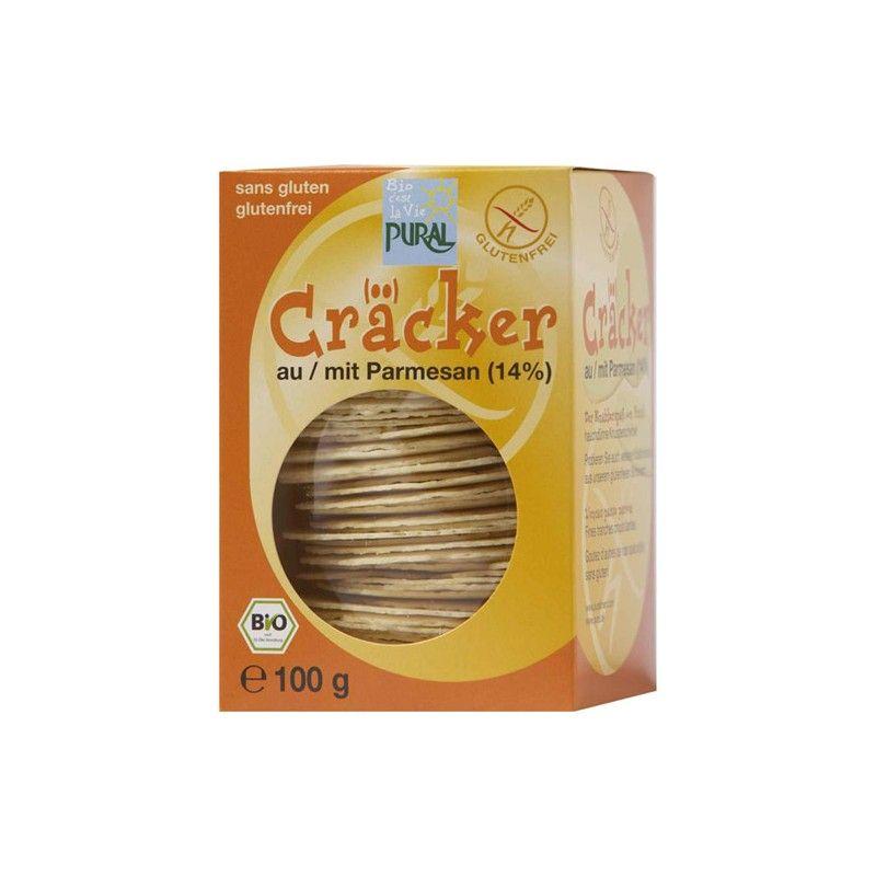 CRACKER PARMESAN 100 G PURAL