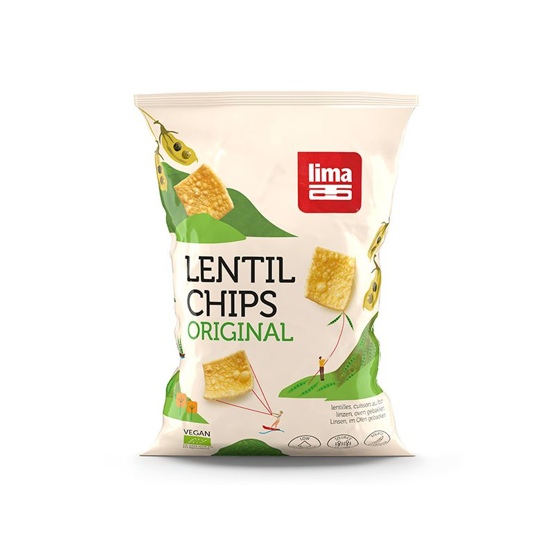 LENTILLES CHIPS ORIGINAL 90G LIMA