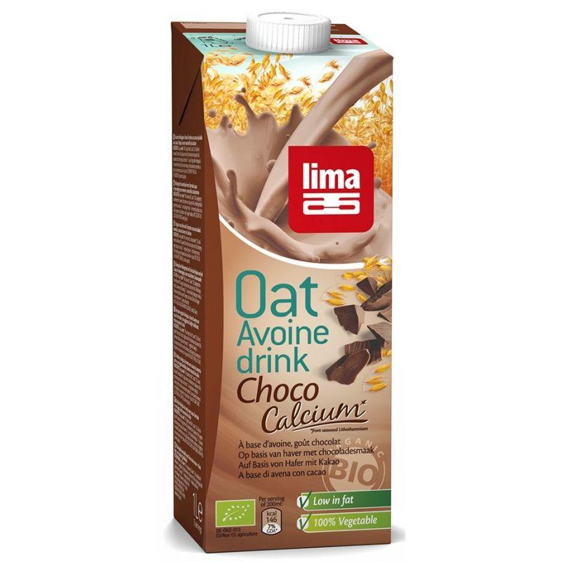 OAT DRINK CHOCO + CALCIUM 1L LIMA