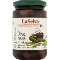 OLIVES NOIRES EN SAUMURE 310G LASELVA