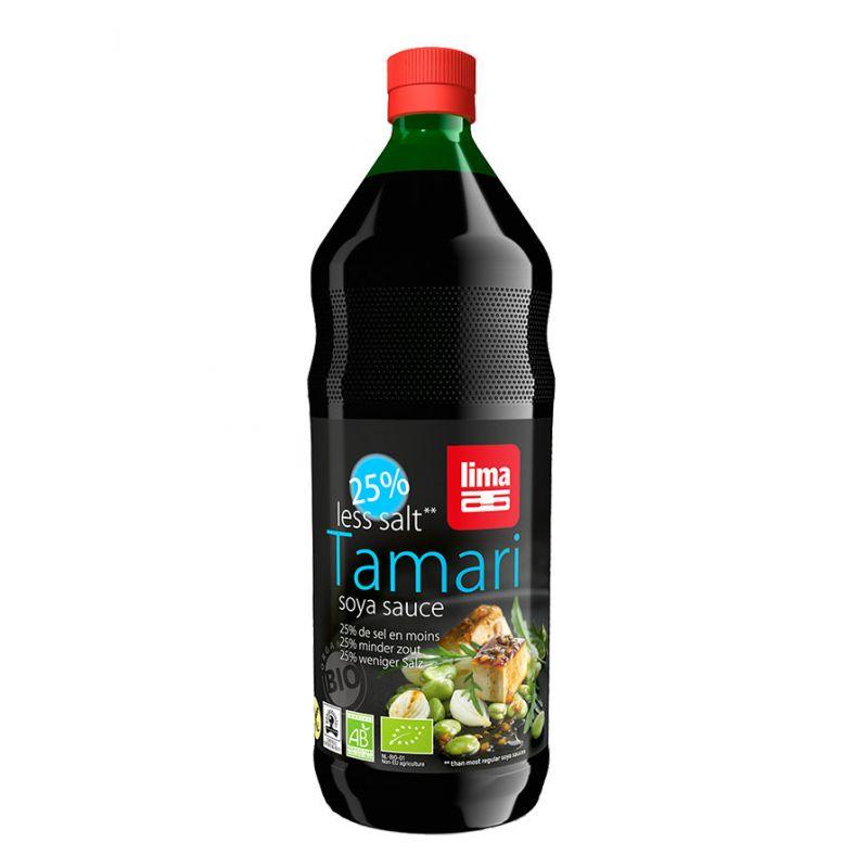 TAMARI (-25% DE SEL) 500ML LIMA