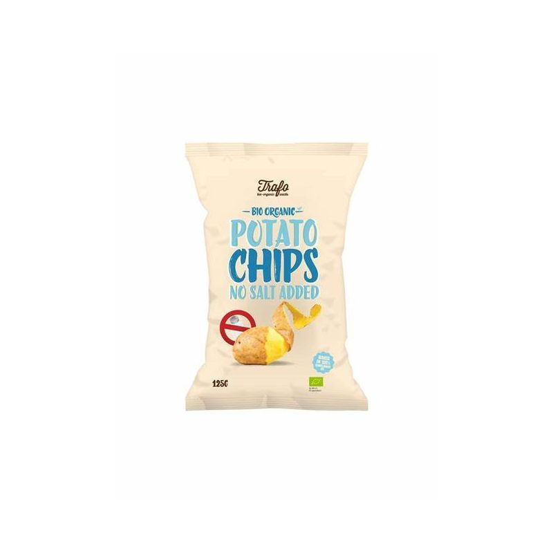 CHIPS SANS SEL 125 G TRA'FO