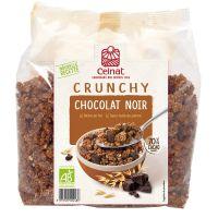 CRUNCHY AU CHOCOLAT NOIR 500 G