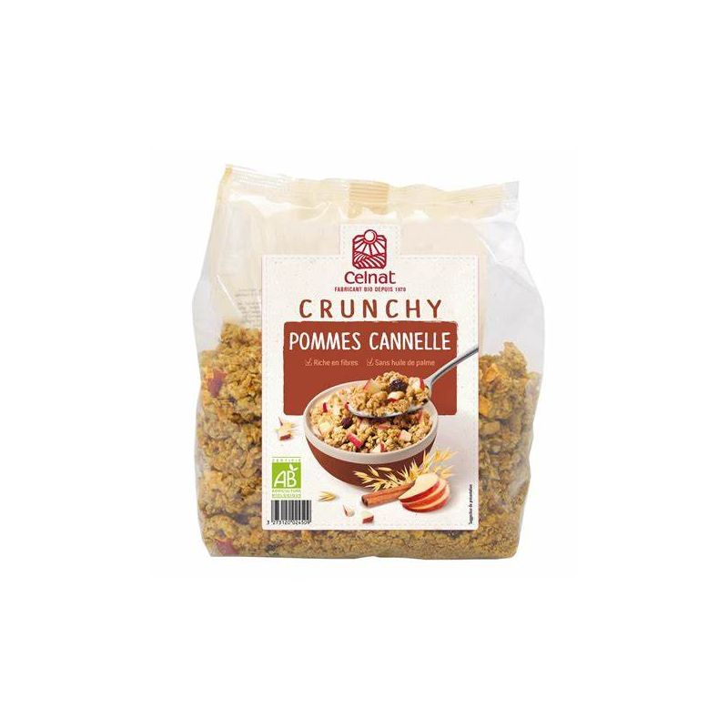 CRUNCHY POMME CANNELLE 500 G