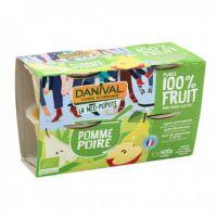 DESSERT DE FRUITS POIRE 4X 100 G
