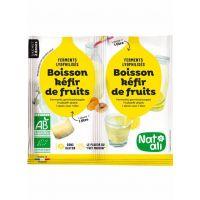 FERMENT POUR BOISSON KEFIR DE FRUITS 2X 5 GR NAT ALI