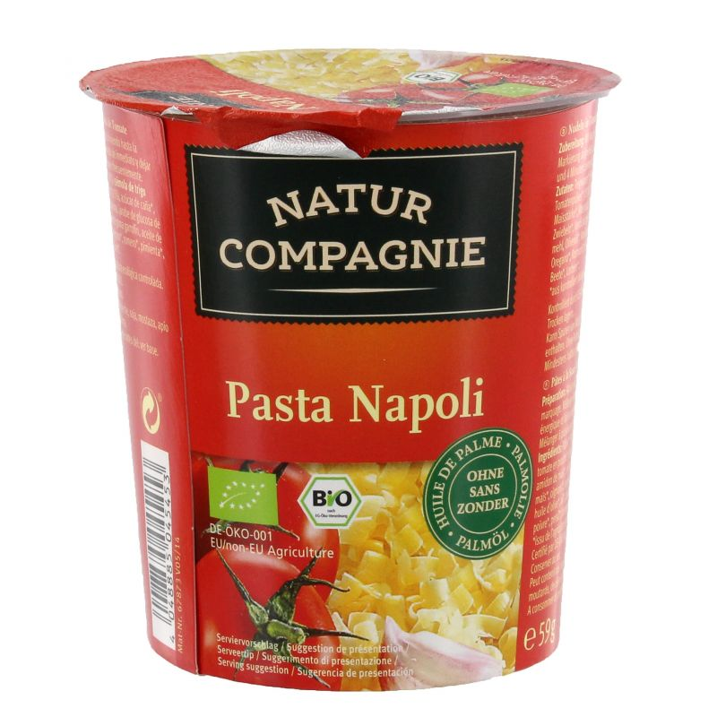 PASTA NAPOLI 59 G NATUR COMPAGNIE