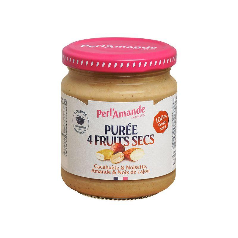 PURÉE 4 FRUITS SECS 200 G