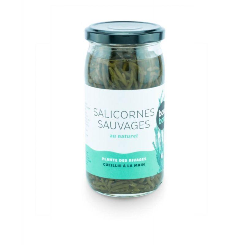 SALICORNES AU NATUREL 170 G