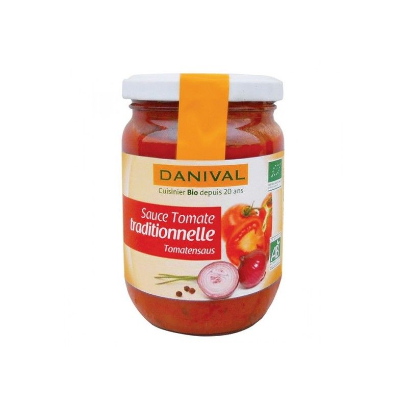 SAUCE TOMATE TRADITIONNELLE 210 G