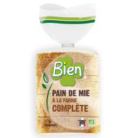 PAIN DE MIE COMPLET 500 G BIEN