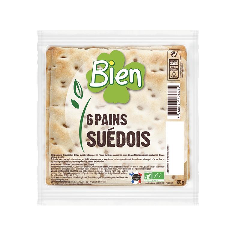 PAINS SUEDOIS 180 G BIEN