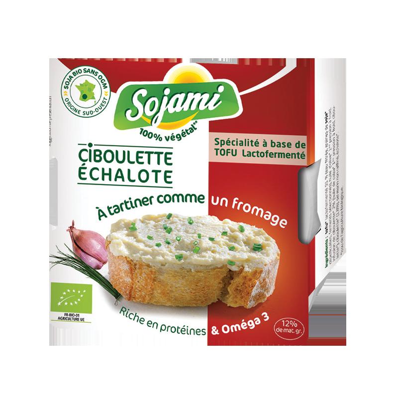 SOJAMI A TARTINER CIBOULETTE/ECHALOTE 125 G