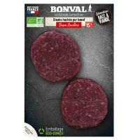 STEAKS HACHES, 15 % MG  250 G
