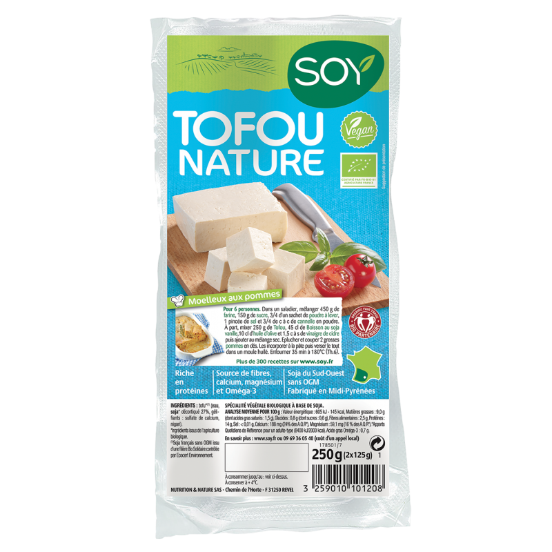 TOFOU NATURE 250 G SOY