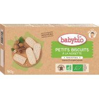 PETITS BISCUITS À LA NOISETTE 160G - DÈS 12 MOIS BABYBIO
