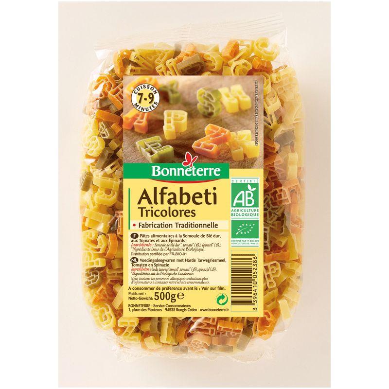 ALFABETI TRICOLORES 500G