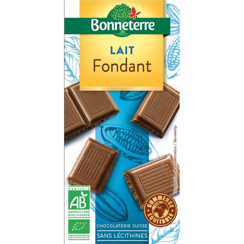 CHOCOLAT LAIT FONDANT 100G