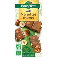 CHOCOLAT LAIT NOISETTE 100G