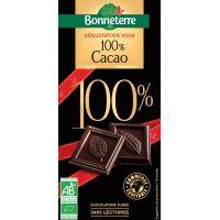 CHOCOLAT NOIR 100% 80 G