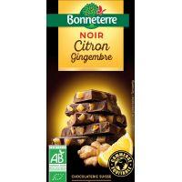 CHOCOLAT NOIR CITRON GINGEMBRE 100G