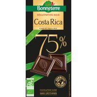CHOCOLAT NOIR COSTA RICA 75% 80G