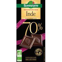 CHOCOLAT NOIR INDE 70% 80G