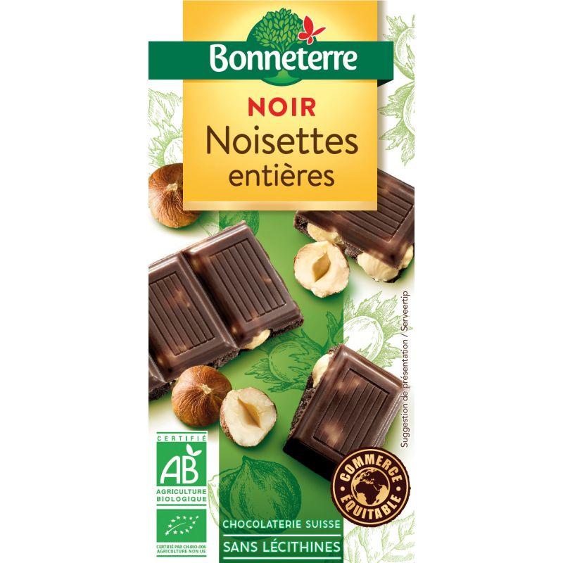 CHOCOLAT NOIR NOISETTE 100G