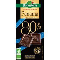 CHOCOLAT NOIR PANAMA 80% 80G