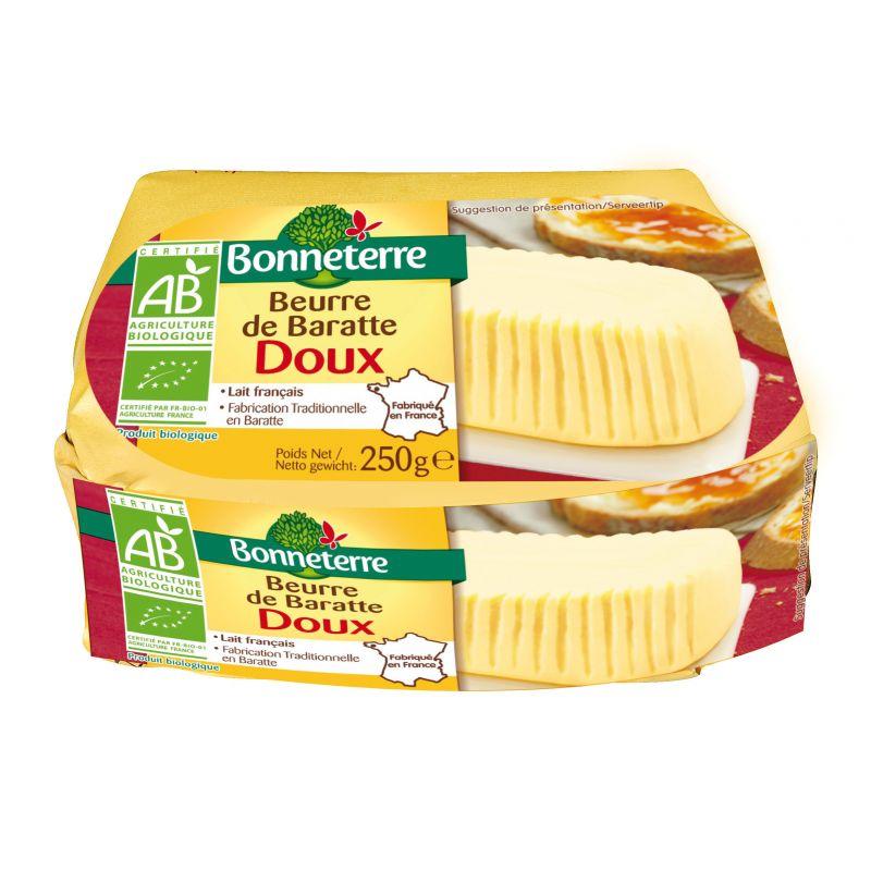 BEURRE DE BARATE DOUX 250G