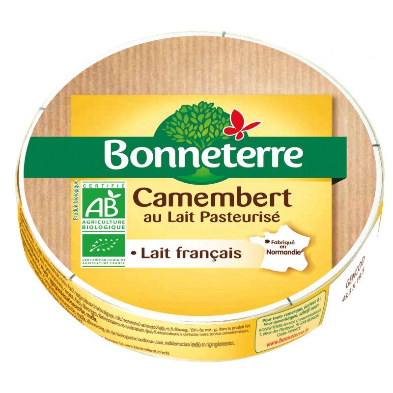 CAMEMBERT LAIT PASTEURISE 250G