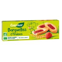 BARQUETTE O'FRAISES 120G