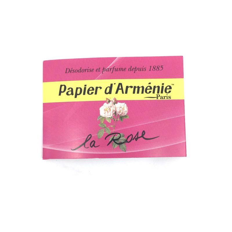 PAPIER ARMENIE A LA ROSE - 14868