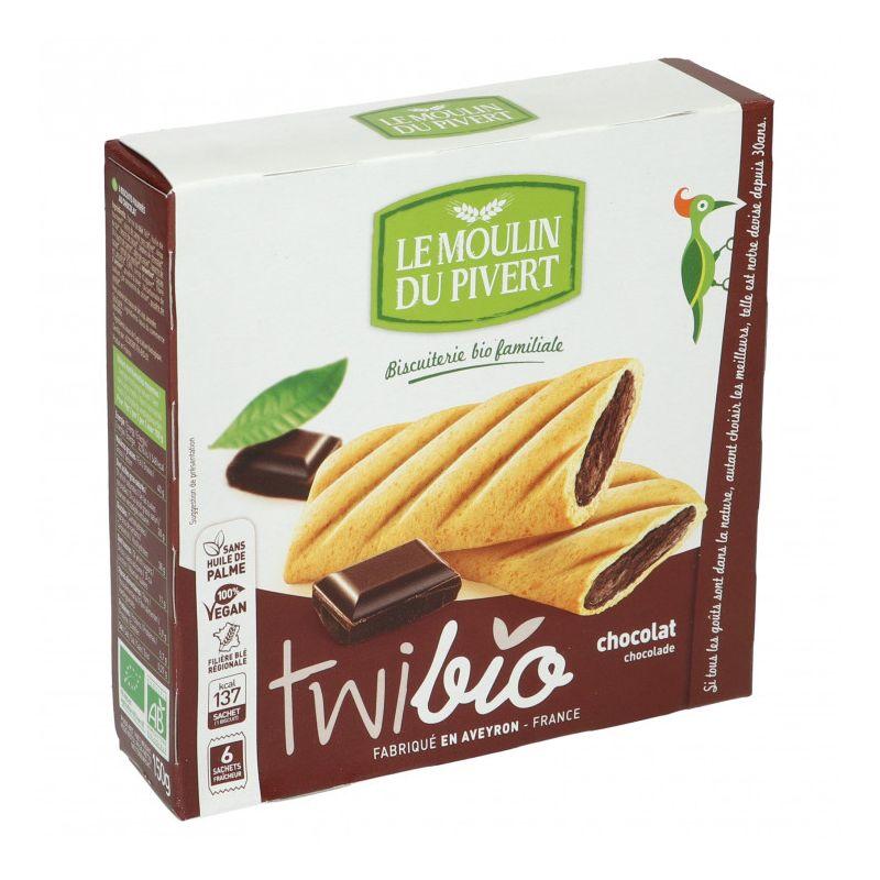 TWIBIO NAPPÉ FOURRE CHOCOLAT 150 G