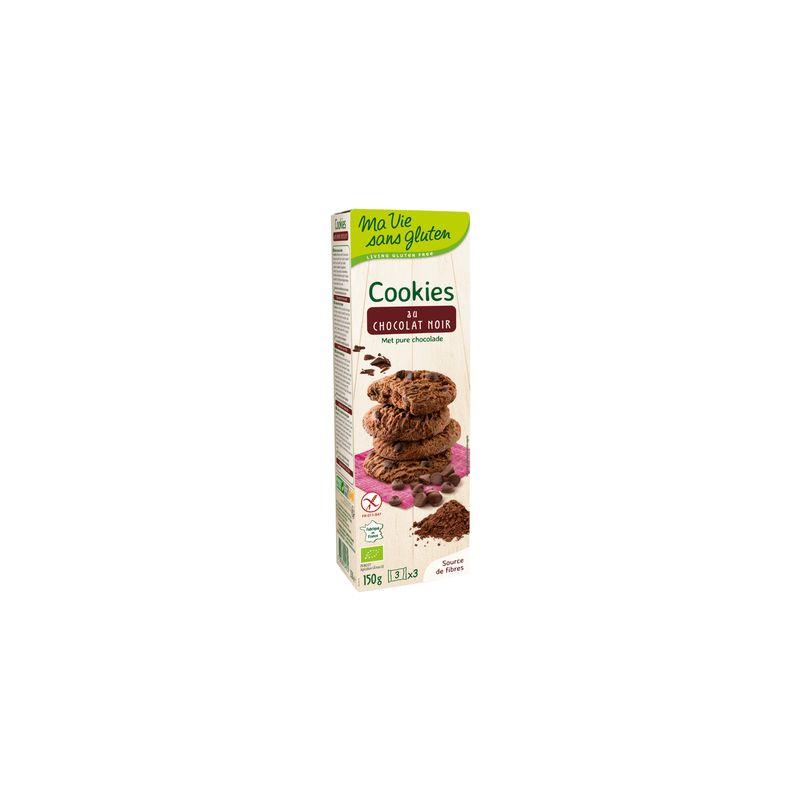 COOKIES CHOCOLAT NOIR 150 G MA VIE SANS GLUTEN